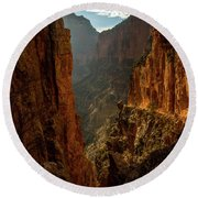 Magestic View Round Beach Towel