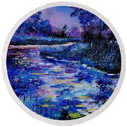 Magic Pond Round Beach Towel