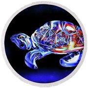 Magic Turtle Round Beach Towel