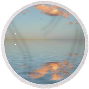 Magical Moment Round Beach Towel