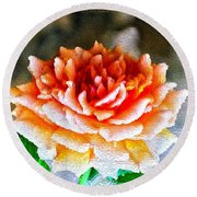 Magical Rose Round Beach Towel