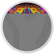 Magically Delicious Round Beach Towel