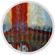Magma Round Beach Towel
