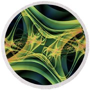 Magnetic Round Beach Towel