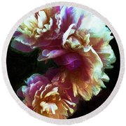 Magnificence Round Beach Towel