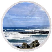 Magnificent Sea Round Beach Towel