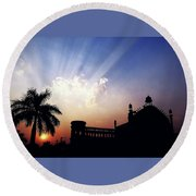 Magnificent Sky  Round Beach Towel