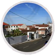 Maia - Azores Islands Round Beach Towel