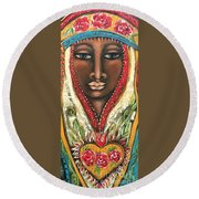 Maia Round Beach Towel