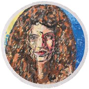 Maja Round Beach Towel