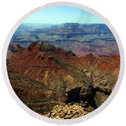 Majestic View Round Beach Towel