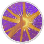 Make A Wish Round Beach Towel