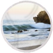 Malibu Dreams Round Beach Towel