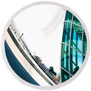 Mam Curved Round Beach Towel