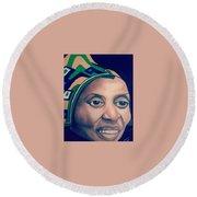 Mama Afrika Round Beach Towel
