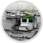 Mamosa Round Beach Towel