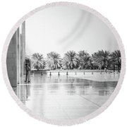 Man From Muscat Round Beach Towel