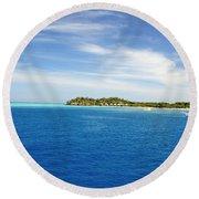 Mana Island Round Beach Towel
