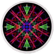 Mandala 3351 Round Beach Towel