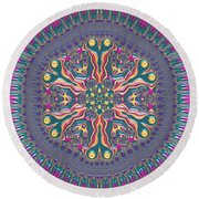 Mandala 467567678 Round Beach Towel