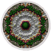 Mandala 467567678975 Round Beach Towel