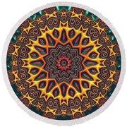 Mandala 574535675 Round Beach Towel