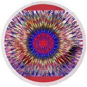 Mandala 7 Round Beach Towel