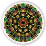 Mandala - Talisman 1103 - Order Your Talisman. Round Beach Towel
