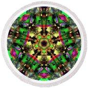Mandala - Talisman 1107 - Order Your Talisman. Round Beach Towel