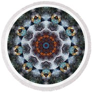 Mandala - Talisman 1111 - Order Your Talisman. Round Beach Towel