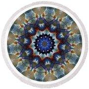 Mandala - Talisman 1120 - Order Your Talisman. Round Beach Towel
