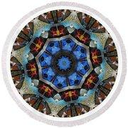 Mandala - Talisman 1124 - Order Your Talisman. Round Beach Towel