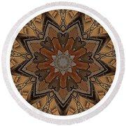 Mandala - Talisman 1333 Round Beach Towel