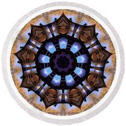 Mandala - Talisman 1396 Round Beach Towel
