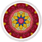 Mandala - Talisman 1404 Round Beach Towel