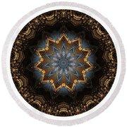 Mandala - Talisman 1415 Round Beach Towel