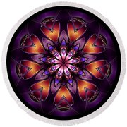Mandala - Talisman 1433 Round Beach Towel