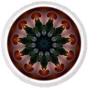 Mandala - Talisman 1440 Round Beach Towel