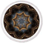 Mandala - Talisman 1444 Round Beach Towel