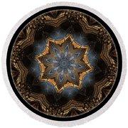Mandala - Talisman 1445 Round Beach Towel