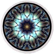 Mandala - Talisman 1447 Round Beach Towel