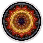 Mandala - Talisman 1452 Round Beach Towel