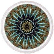 Mandala - Talisman 1457 Round Beach Towel
