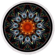 Mandala - Talisman 1538 Round Beach Towel