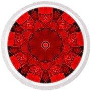 Mandala - Talisman 1541 Round Beach Towel