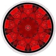 Mandala - Talisman 1542 Round Beach Towel