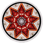 Mandala - Talisman 4009 Round Beach Towel