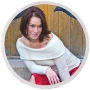 Mandy 0043 Round Beach Towel