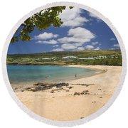 Manele Bay Round Beach Towel