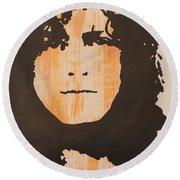 Marc Bolan T.rex Round Beach Towel